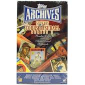 2001 Topps Archives Series 2 Baseball Hobby Box