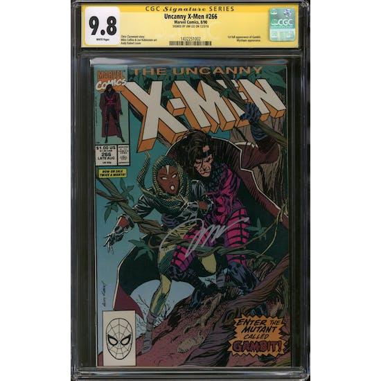 Uncanny X-Men #266 CGC 9.8 Jim Lee Signature Series (W) *1432251002*