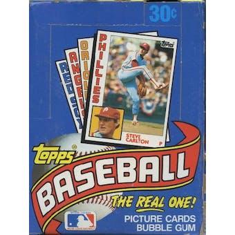 1984 Topps Baseball Wax Box