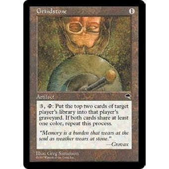 Magic the Gathering Tempest Single Grindstone - NEAR MINT (NM)