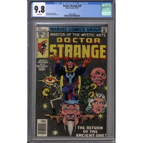 Doctor Strange #26 CGC 9.8 (W) *1445726025*
