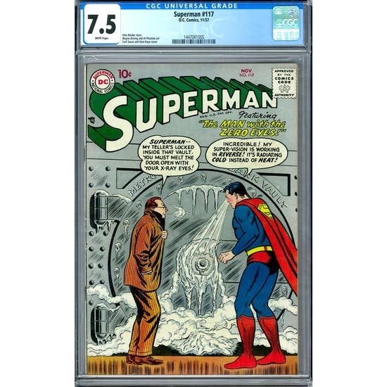 Superman #117 CGC 7.5 (W) *1447061005*