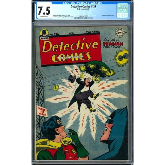 Detective Comics #126 CGC 7.5 (OW) *1447061007*