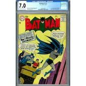 Batman #112 CGC 7.0 (C-OW) *1447061008*