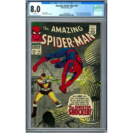 Amazing Spider-Man #46 CGC 8.0 (W) *1447063011*