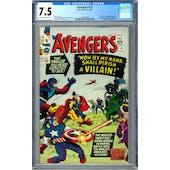 Avengers #15 CGC 7.5 (OW-W) *1447688004*
