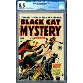 Black Cat Mystery Comics #30 CGC 8.5 (C-OW) *1447688010*