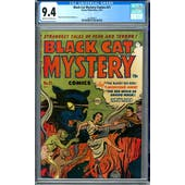 Black Cat Mystery Comics #31 CGC 9.4 (C-OW) *1447688011*