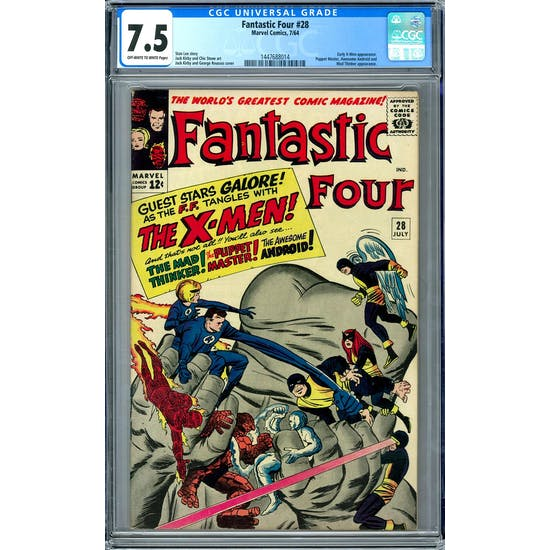 Fantastic Four #28 CGC 7.5 (OW-W) *1447688014*