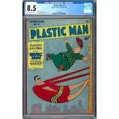 Plastic Man #4 CGC 8.5 (OW-W) *1447688018*