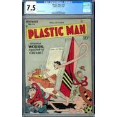 Plastic Man #14 CGC 7.5 (OW) *1447688020*