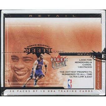 2001/02 Fleer Ultra Basketball Retail Box