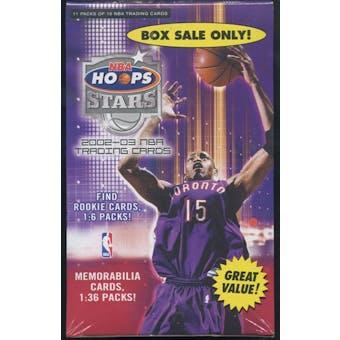 2002/03 Fleer Hoops Stars Basketball Blaster Box