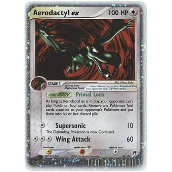 Pokemon Sandstorm Single Aerodactyl ex 94/100