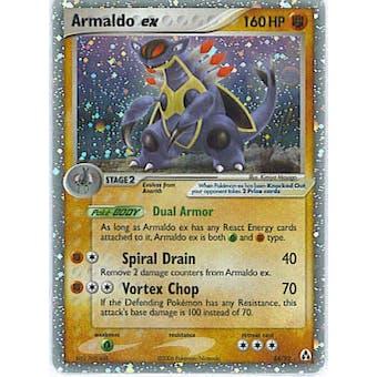 Pokemon EX Legend Maker Single Armaldo ex 84/92 - NEAR MINT (NM)