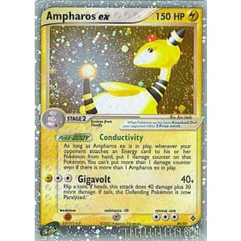 Pokemon Dragon Single Ampharos ex 89/97