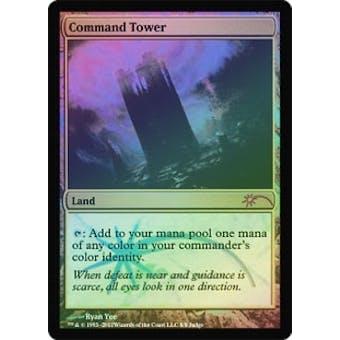 Magic the Gathering Judge Promo Single Command Tower FOIL - NEAR MINT (NM)