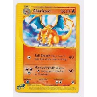 Pokemon Expedition Single Charizard 39/165 RVERSE FOIL - SLIGHT PLAY (SP)