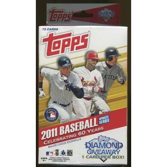 2011 Topps Update Baseball Retail Hanger Box