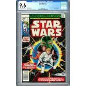 Star Wars #1 CGC 9.6 (OW-W) *1462802001*