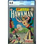 Hawkman #1 CGC 4.0 (C-OW) *1462802003*