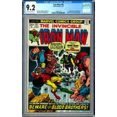Iron Man #55 CGC 9.2 (OW-W) *1462852014*