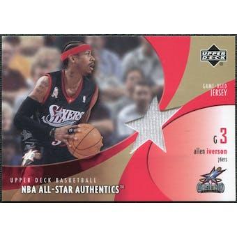 2002/03 Upper Deck All-Star Authentics Jerseys #AIAJ Allen Iverson