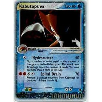 Pokemon Sandstorm Single Kabutops ex 97/100 - NEAR MINT (NM)
