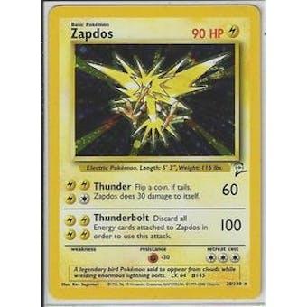 Pokemon Base Set 2 Single Zapdos 20/130