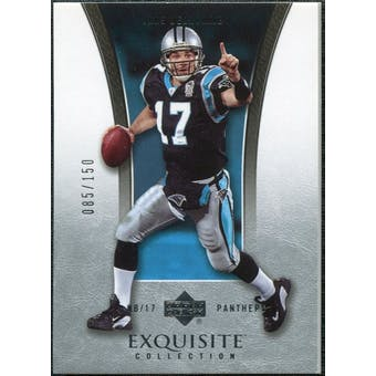 2005 Upper Deck Exquisite Collection #6 Jake Delhomme /150