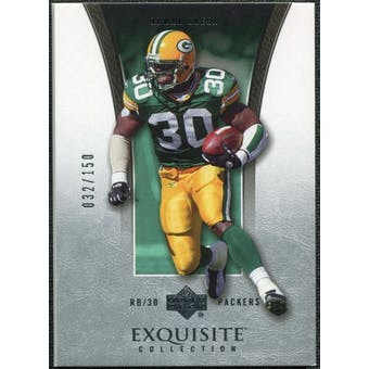 2005 Upper Deck Exquisite Collection #14 Ahman Green /150