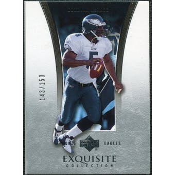 2005 Upper Deck Exquisite Collection #30 Donovan McNabb /150
