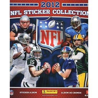 2012 Panini NFL Football Sticker Album (Lot of 40)