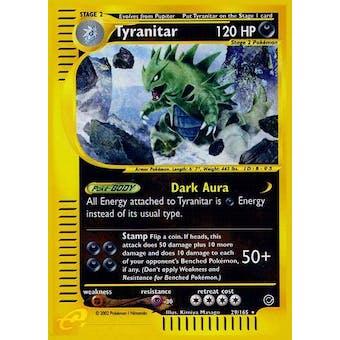 Pokemon Expedition Single Tyranitar 29/165 - SLIGHT PLAY (SP)