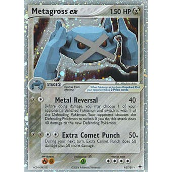 Pokemon Hidden Legends Single Metagross ex 95/101
