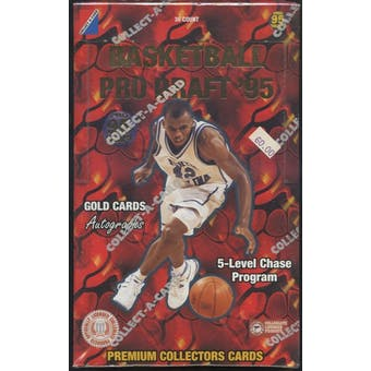 1995/96 Classic Collect-A-Card Pro Draft Basketball Hobby Box