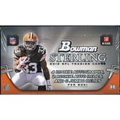2012 Bowman Sterling Football Hobby Box