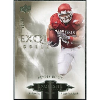 2010 Upper Deck Exquisite Collection #19 Peyton Hillis /35