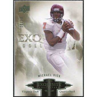 2010 Upper Deck Exquisite Collection #66 Michael Vick /35