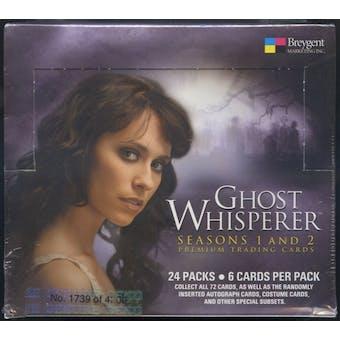 Ghost Whisperer Seasons 1 & 2 Hobby Box (2009 Breygent)