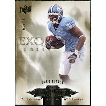 2010 Upper Deck Exquisite Collection Draft Picks #ERGL Greg Little /99