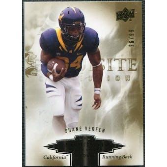 2010 Upper Deck Exquisite Collection Draft Picks #ERSV Shane Vereen /99