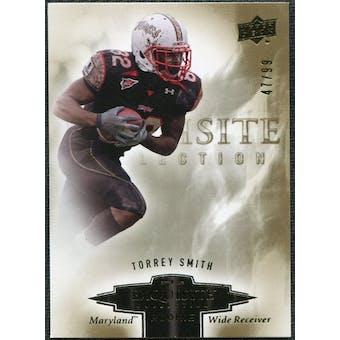2010 Upper Deck Exquisite Collection Draft Picks #ERTS Torrey Smith /99