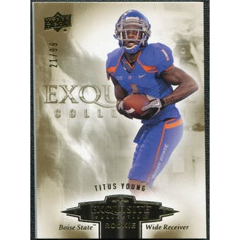 2010 Upper Deck Exquisite Collection Draft Picks #ERTY Titus Young /99