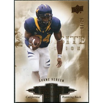 2010 Upper Deck Exquisite Collection Draft Picks Bronze #ERSV Shane Vereen /25
