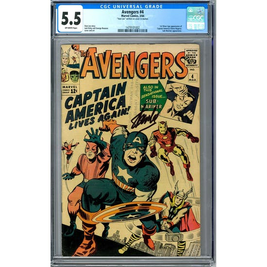 Avengers #4 CGC 5.5 (OW) *1479101002*