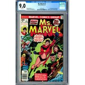 Ms. Marvel #1 CGC 9.0 (W) *1479142024*