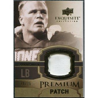 2010 Upper Deck Exquisite Collection Premium Patch #EPPBB Brian Bosworth /75