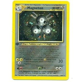 Pokemon Neo Revelations 1st Edition Single Magneton 10/64