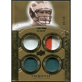2010 Upper Deck Exquisite Collection Rare Materials #ERMCH Chad Henne /30
